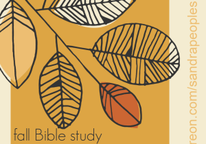 Patreon fall Bible study