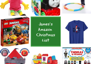 james's christmas list 2018